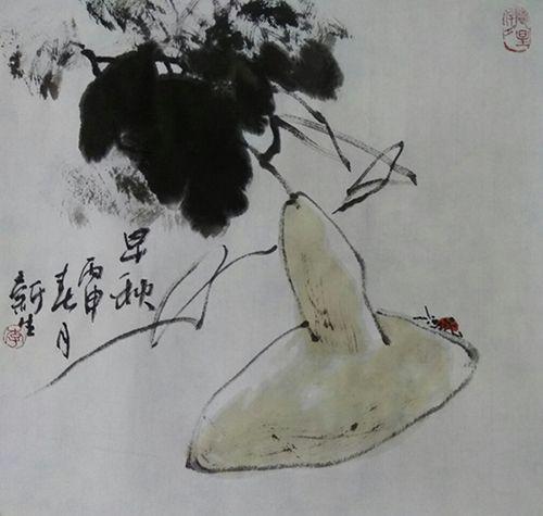 早秋小品(32X32)