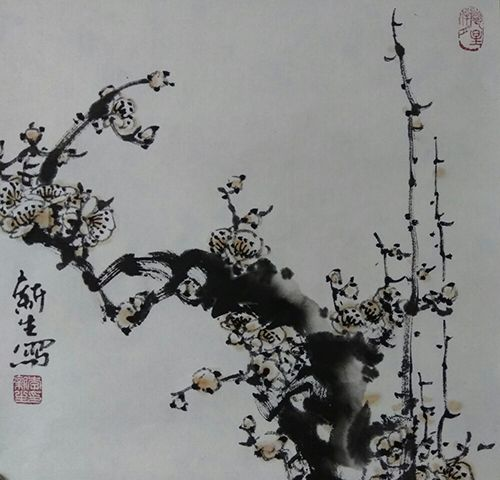 梅花小品(32X32)