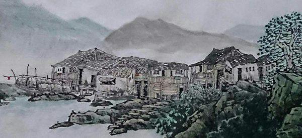 忆写黔东南(150X60)