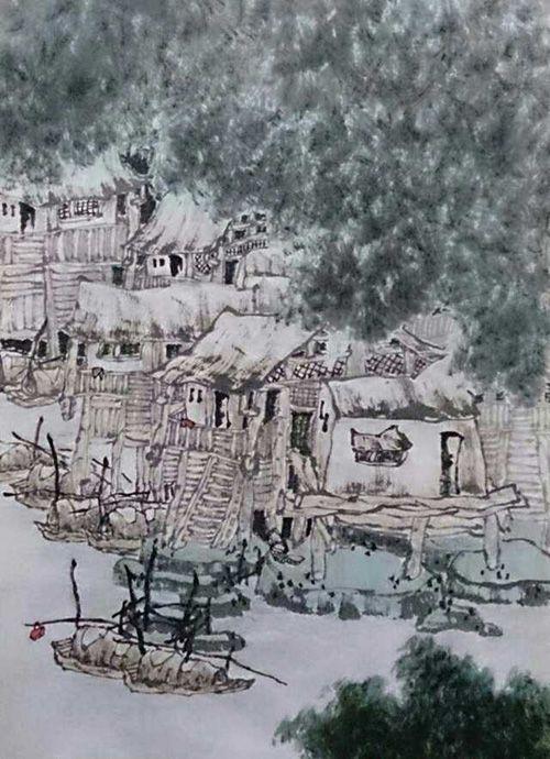 黔东小景(120X60)