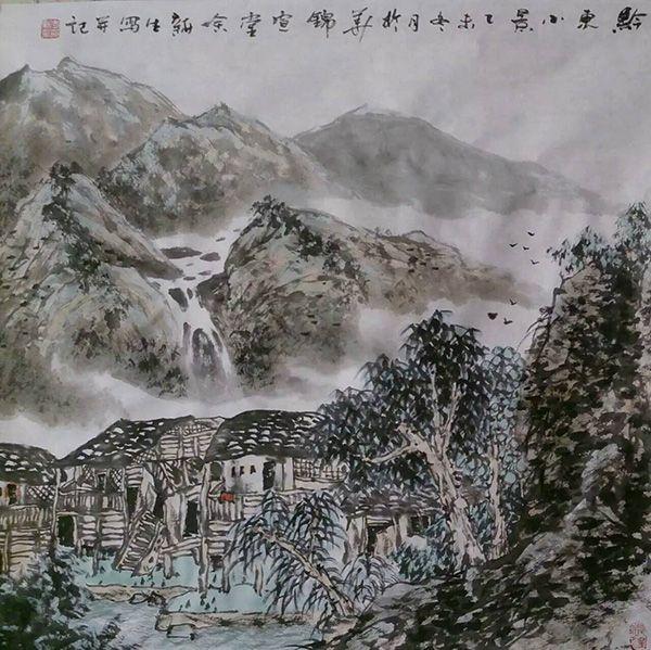黔东小景(68X68)