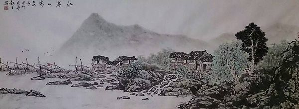 江岸人家(120X50)