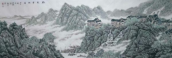 黔东云起图(360X140)