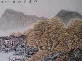 伴窗赏秋图(136X68)
